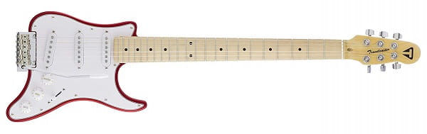 Traveler Guitar 6 String Travelcaster Deluxe Electric, Right Handed