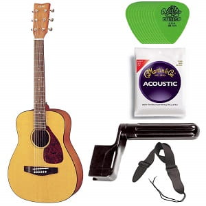 c779ca7a89 Yamaha JR1 34 Size Steel String Acoustic Guitar Bundle