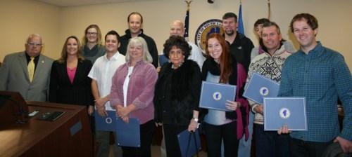 Fall 2013 Citizens Academy Graduates