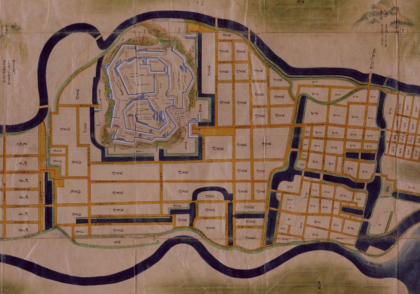 国立公文書館デジタルアーカイブ「正保城絵図」