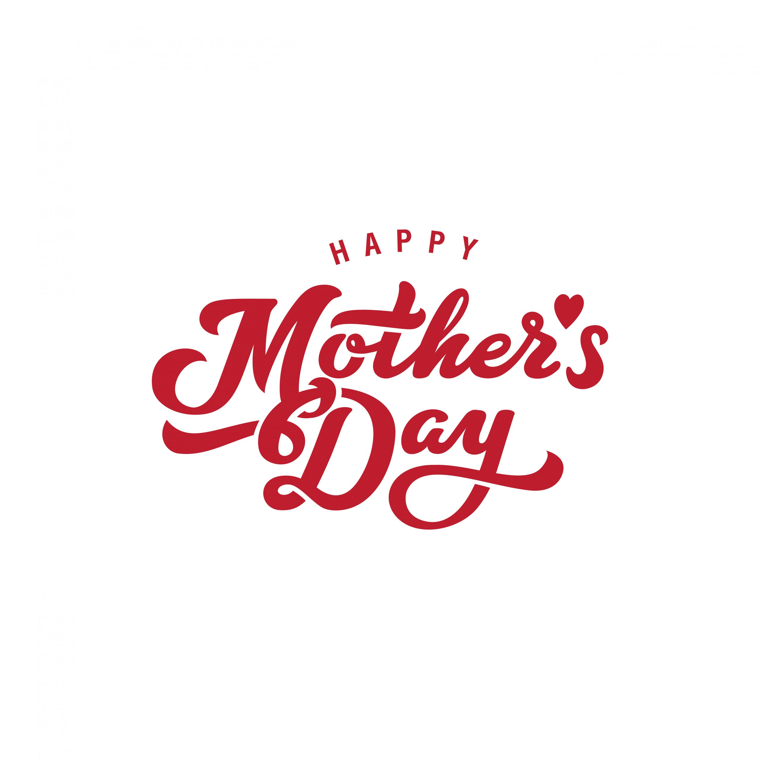 Mother's Day Calligraphy Lettering vector design. Typography Poster Banner Card template.