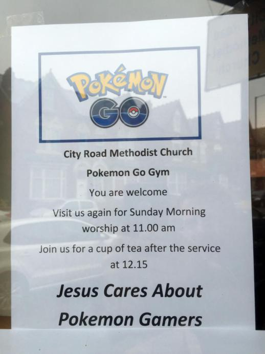 Church featured in Pokemon Go expecting deluge of gamers