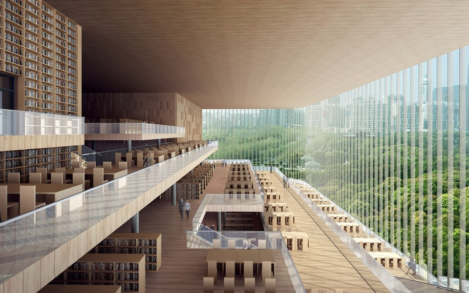 Shanghai Library Pudong Branch