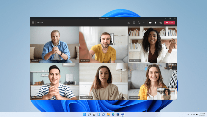 The design of the experience features rounded corners, effects, and visuals coherent with the rest of the Windows 11 experience.