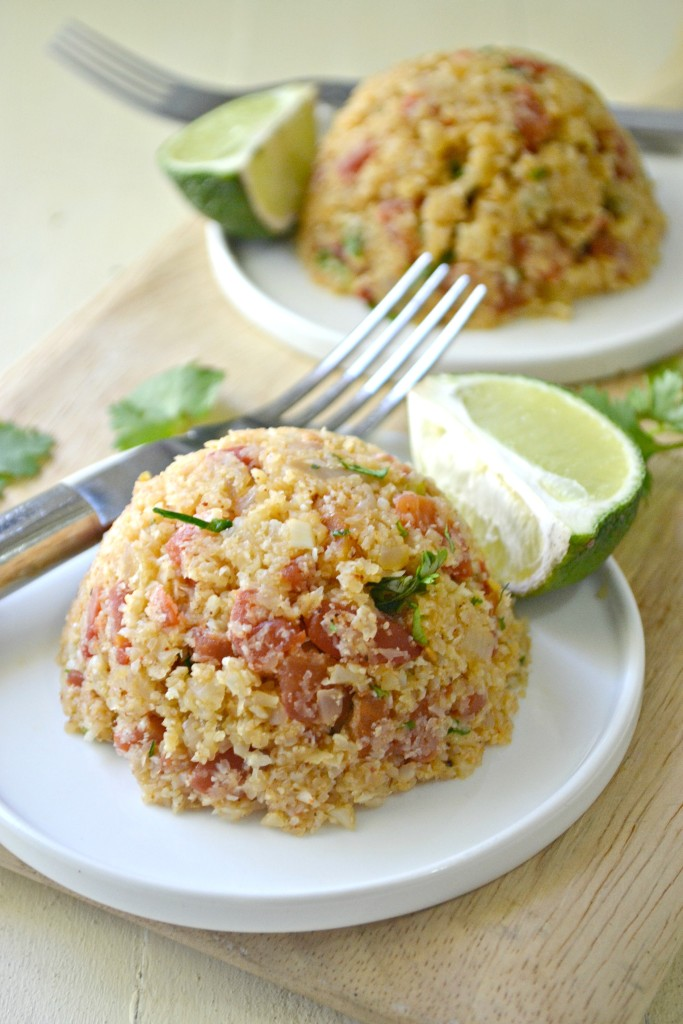 A new twist on a classic rice dish--try using cauliflower instead for a grain-free Cauliflower Spanish Rice dish. 2