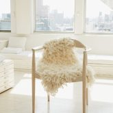 Faux Sheepskin   Arm Knitting Pattern from Knitting Without Needles by Anne Weil