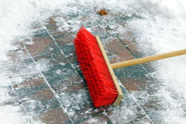 Broom For Light Snow | Cold Weather Hacks To Keep You Cozy This Winter