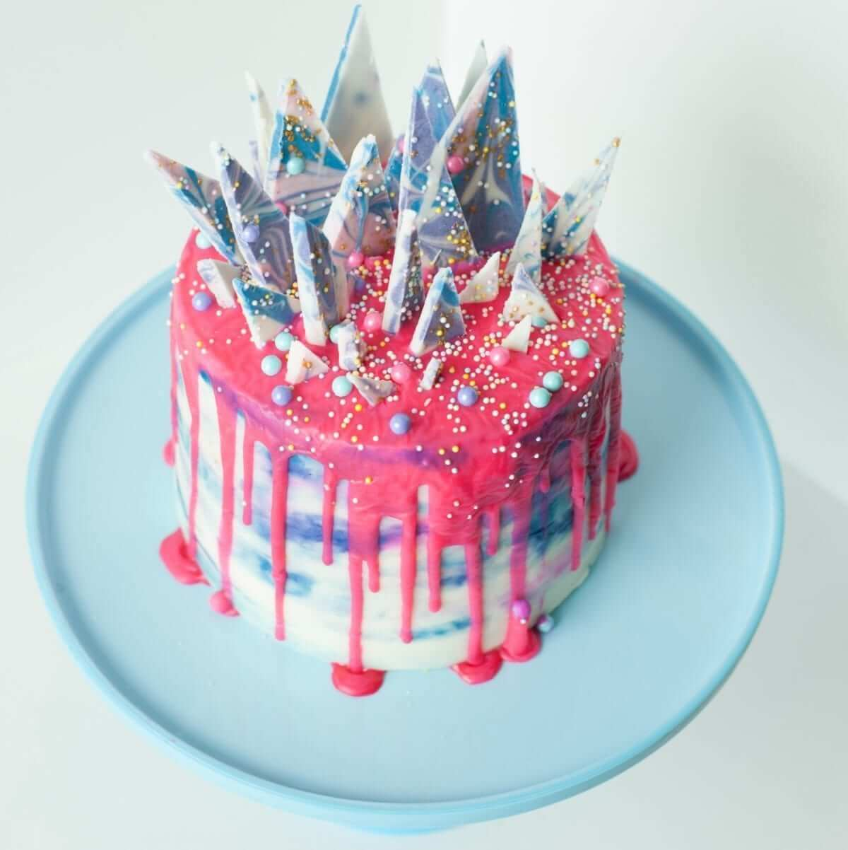 Colorful Trendy Birthday Cake Lou Lou Girls