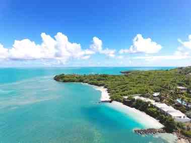Aerial View of 473 Grenada Boutique Resort