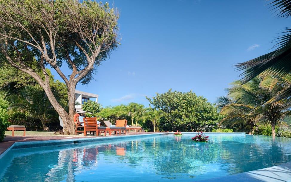 Infinity pool at 473 Grenada Boutique Resort