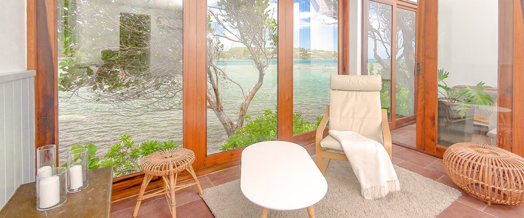 Oceanfront Cliffside 2-Bedroom Villa