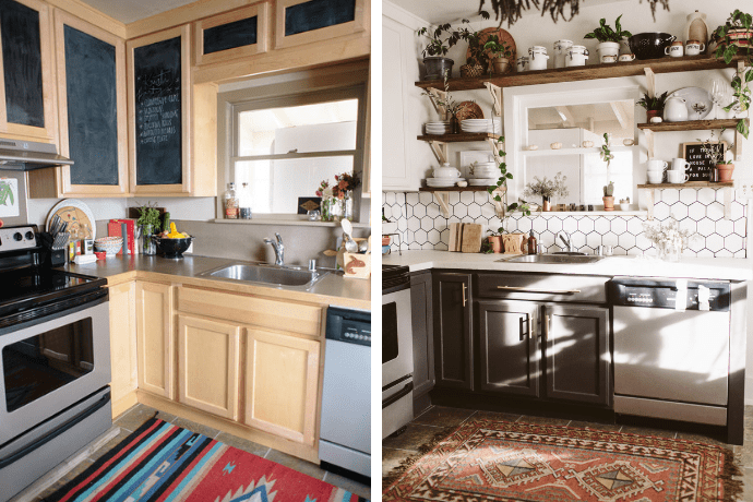 Small Kitchen Remodels That Will Blow Your Mind | Glitter ... on Small Kitchen Remodel  id=19343