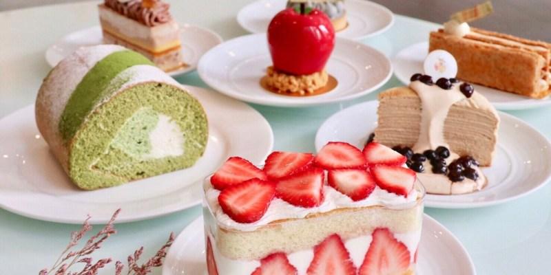 桃園甜點-小初心法式甜點 很有水準的法式甜點 抹茶捲 珍珠奶茶可麗餅必吃