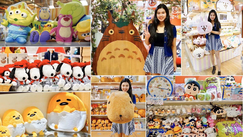 日本大阪梅田-阪急三番街Kiddyland 迪士尼/各種卡通人物周邊商品 史奴比 龍貓共和國