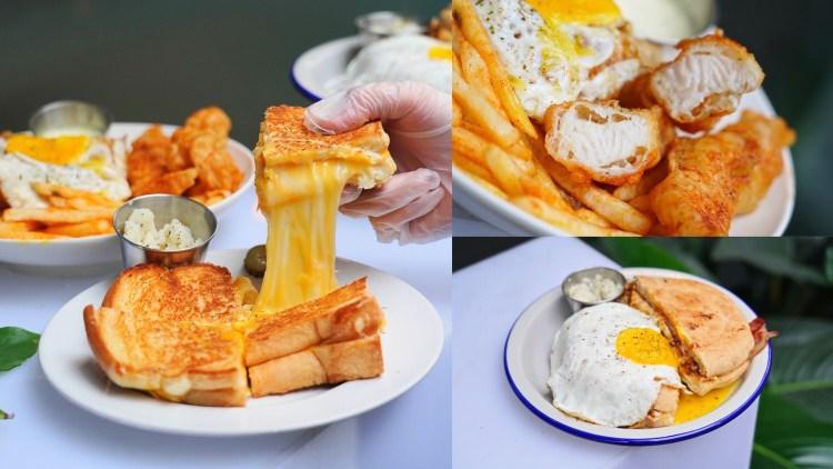 信義美食-OKI OKI Deli 熱三明治 超狂起司瀑布三明治!不吃對不起自己 通化街夜市美食