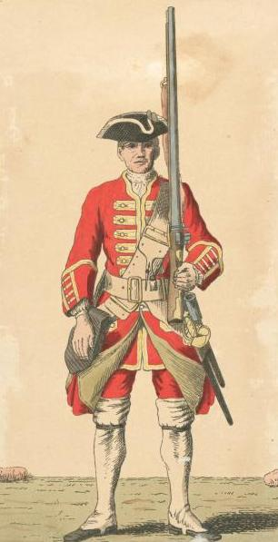 Regiment deployed in French and Indian War