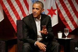 Barack Obama Finally Disses Trump 1