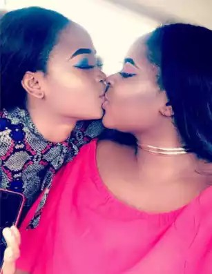 Two Nigerian Sisters Kissing Just to Celebrate Sisterhood On Instagram [See Comments]