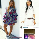 Tiwa Savage's Huge Shadow Gradually Pushing Dija Out Of Music Business [PICS]