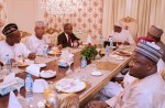 Photos - President Buhari's Dinner With The Leaders of National Assembly At The State House