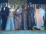 Photos – Aisha Buhari, Patience Jonathan, Obasanjo, Dino Melaye, Aliko Dangote, Femi Otedola, Others At Bukola Saraki's Daughter's Wedding in Abuja