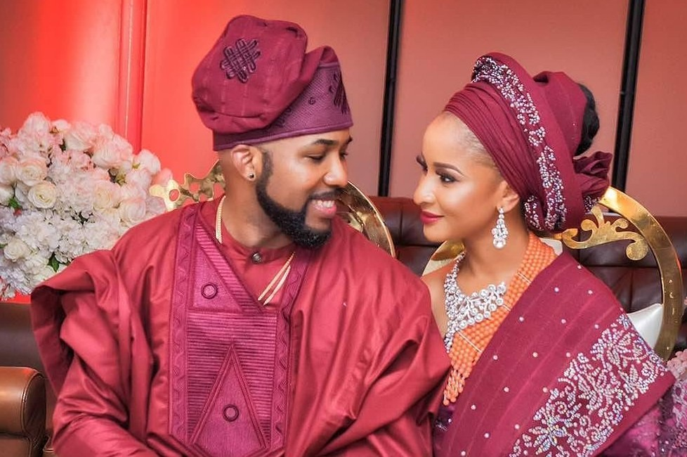 5 Famous Women Banky W Dated Before Marrying Adesua Etomi [Photos]