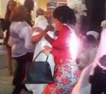 Nollywood Actor Saidi Balogun Sprays Fathia His Ex Wife Money At Mercy Aigbe 40th Birthday Party [Video]