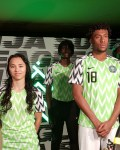 Photos: Nike Unveil Super Eagles' Russia 2018 World Cup Jersey Featuring Wizkid
