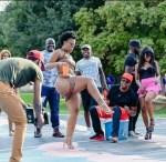 South African Dancer, Zodwa Wabantu Shares Pantless Photos