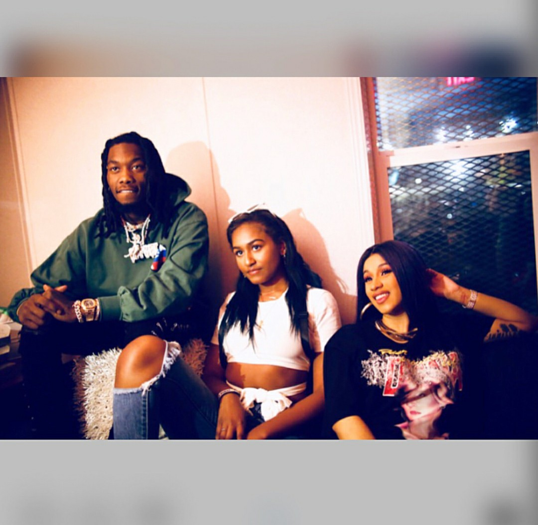 Sasha Obama Poses With Cardi B And Offset [Photos]
