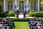 """Video: President Buhari Reacts To Donald Trump's """"Shithole"""" Comment"""