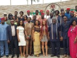 #BBNaija - Governor Okorocha Gifts Miracle A Plot of Land + Scholarship For His CPL, Gives Nina, Teddy A And BamBam N2m Each
