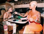 Amber Rose, 34, Sparks Dating Rumours With 17-Year-Old Rapper Lil Pump [Photo/Video]