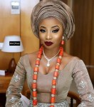 Singer Mo'Cheddah Looking Gorgeous In Her Traditional Wedding Dress