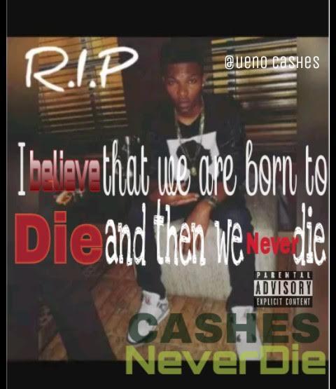 Cashes – Never Die (R I P Al'Chaddas)