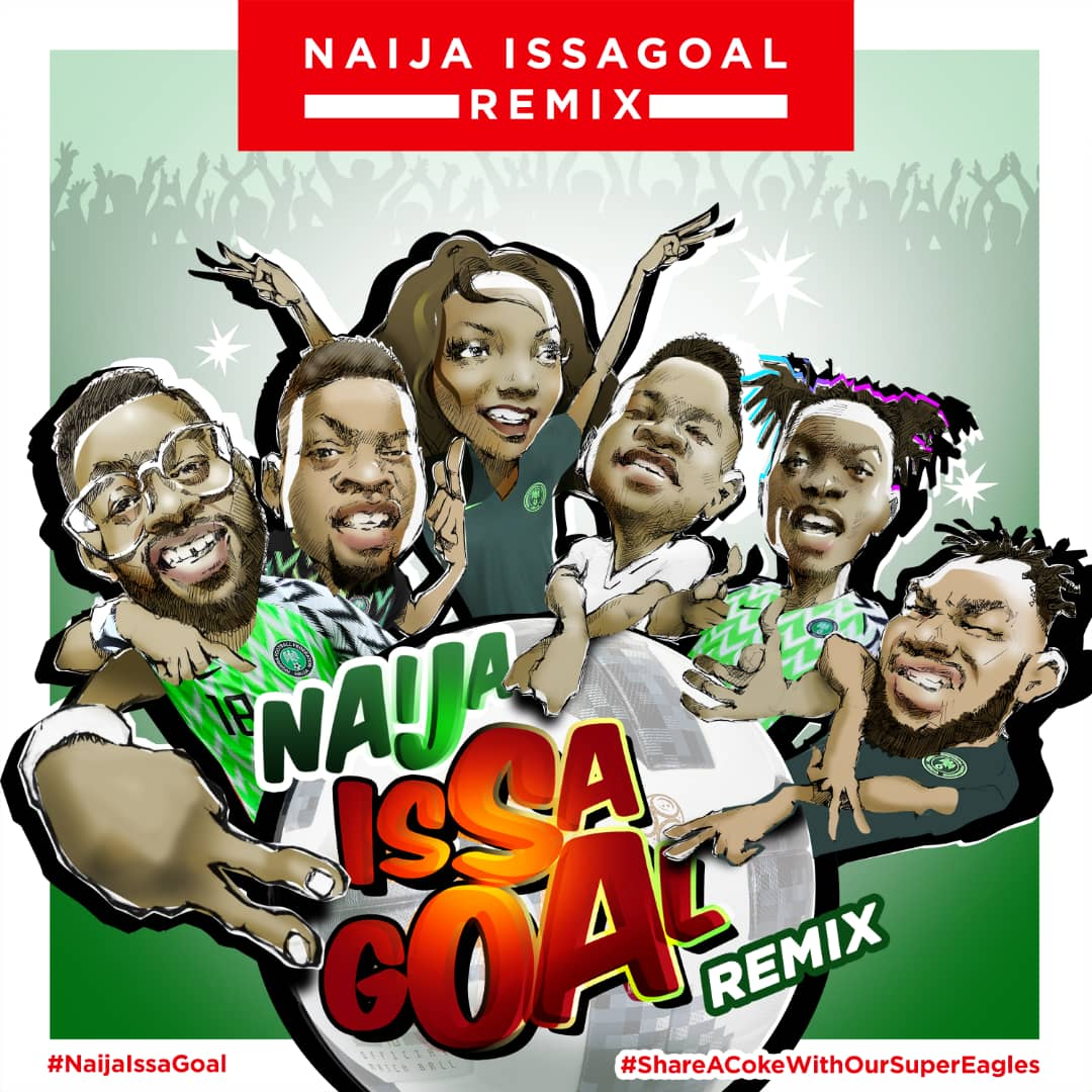 Coca-Cola Ft. Naira Marley, Slimcase, Falz, Simi, Lil Kesh, Olamide - Issa Goal Remix
