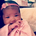 Khloe Kardashian Shares Adorable Photos of Daughter True As She Turns 2 Months Old