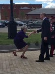 Viral Photo of Prime Minister Theresa May Almost Kneeling As She Greet Prince William [Photos]