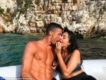 Cristiano Ronaldo Lock Lips With His Girlfriend Georgina As They Enjoy Family Holiday Ahead of His £88m Move To Juventus [Photos]