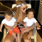 Clear Photo of Beyonce's Twins' Emerges