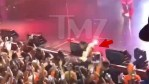 Teyana Taylor Suffers Nasty Fall Off Stage At NYC Concert [Video]