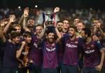 Barcelona Beat Sevilla 2-1 To Win Spanish Super Cup in Morocco