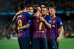 Lionel Messi Scores Twice As Barcelona Open Title Defence With Win