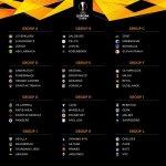 Europa League Draw: Arsenal Drawn Against Sporting While Chelsea Meet PAOK Salonika