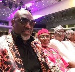 Photos: Senator Dino Melaye Attends The 2018 AMVCA And Social Media Reacts