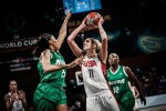 Nigeria Crashes Out of The FIBA Women Championship After Losing To USA in Quarter-Final Clash