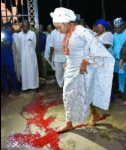 Ooni of Ife Says His New Wife Never Stepped On Blood, Gives Clarification