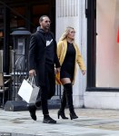 Newly Engaged Couple Rio Ferdinand And Kate Wright Seen For The First Time After Proposal [Photos]