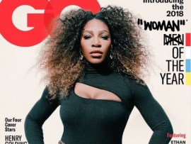 Tennis star,?Serena Williams named GQ