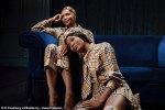 Naomi Campbell And Her Mum Valerie Morris Look Gorgeous As They Pose For Burberry Christmas Shoot [Photos]